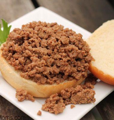 Loose Meat Tastee Sandwich