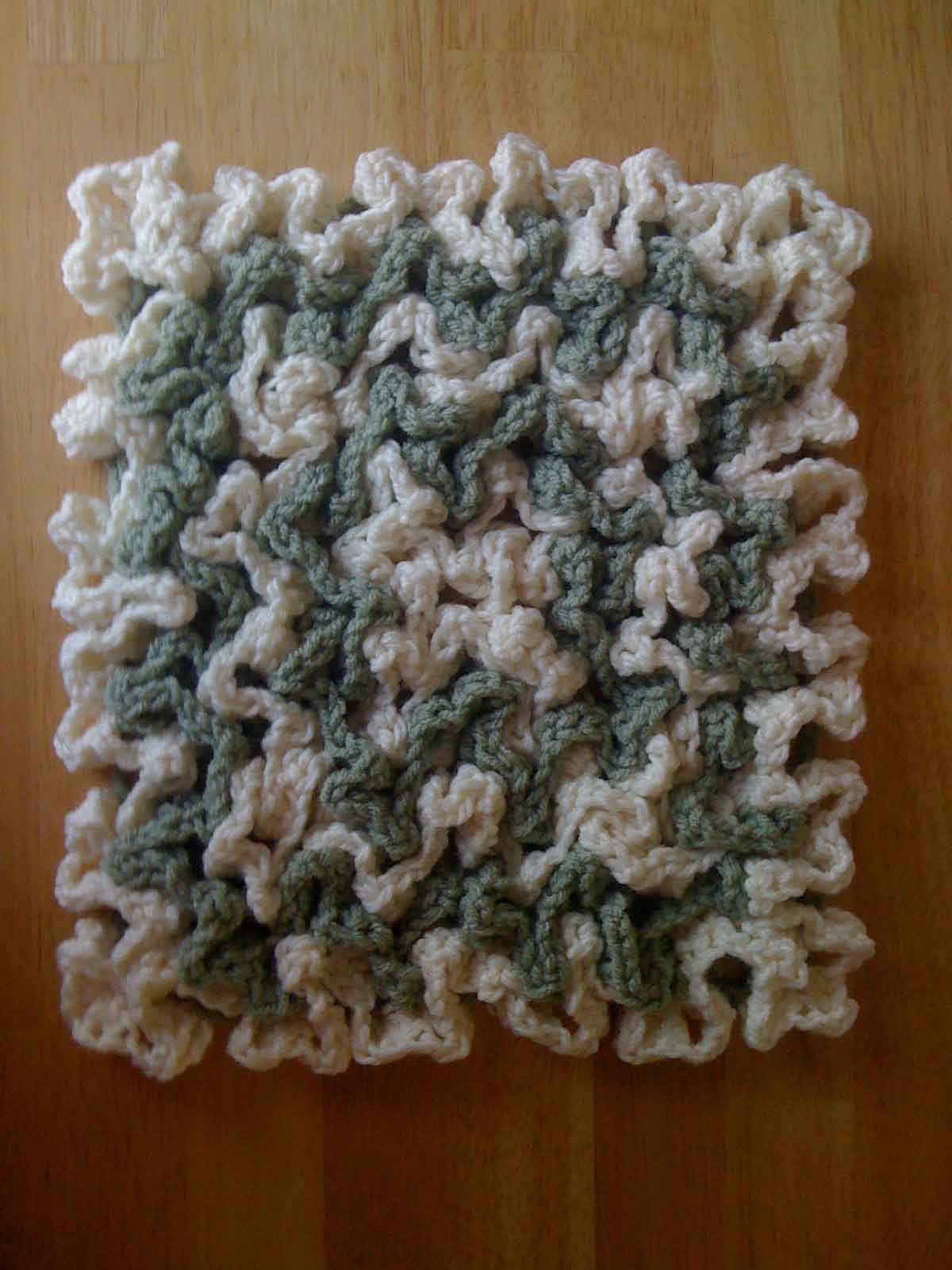 Crochet Patterns Hot Pads : HOTPAD Crochet Pattern - Free Crochet Pattern Courtesy of