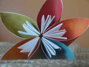 How to make an origami kusudama flower mightylinksfo