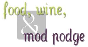 food wine and mod podge