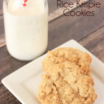 Oatmeal cookies with a crunch! This is my new favorite cookie. A must try recipe.