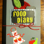 Food Diary Project with Elmer's #GlueNGlitter