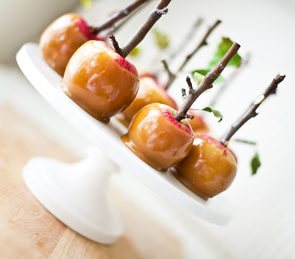 Twig Mini Caramel Apples