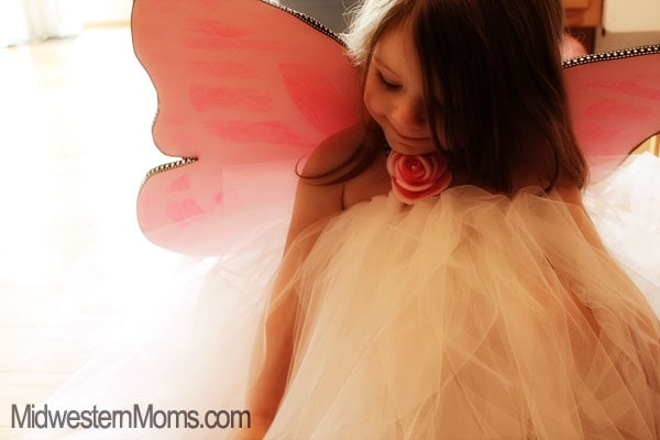 Butterfly Costume Model