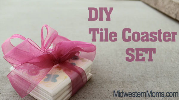 DIY Tile Coaster Set
