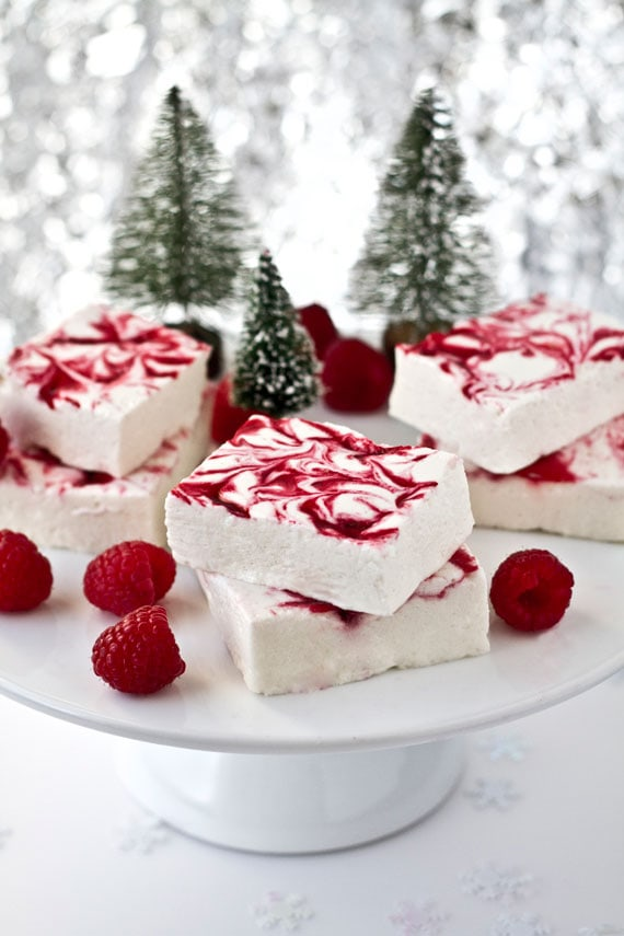 Raspberry Swirl Marshmallow