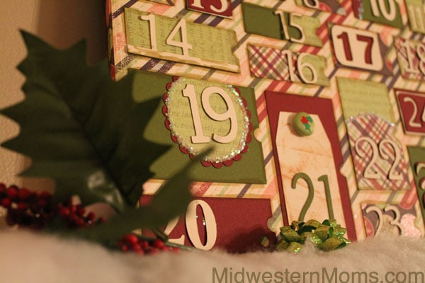 Handmade Calendar Tutorial : Handmade christmas advent calendar tutorial