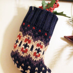 Recycled Sweater Stocking
