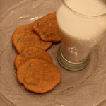 Chocolate Chip Cookies & Milk