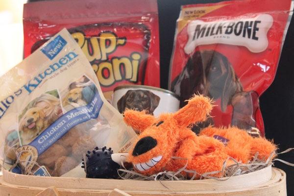 Dog Gift Basket
