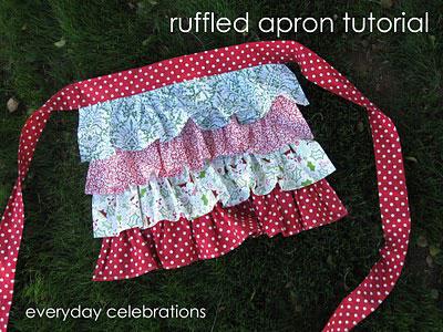 Ruffle Apron