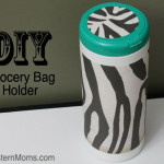 DIY Organization Solution – Grocery Bag Holder