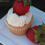 Silk Fruit&Protein Strawberry Banana Cupcakes #SilkFruit #cBias