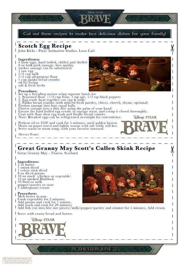 Brave Recipes
