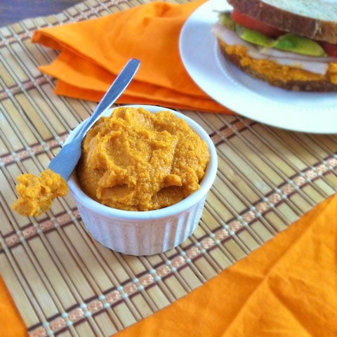Smoky Carrot Hummus Spread