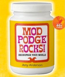 Mod Podge Rocks Book
