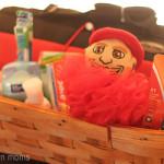 Freshman Dorm Gift Set with #MascotWear Herbie Husker Loofah #cBias