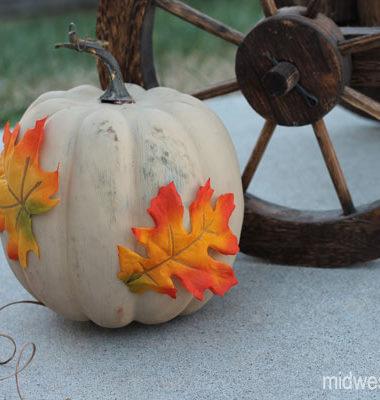 Fall Painted Pumpkin