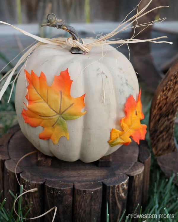 Fall Pumpkin Craft