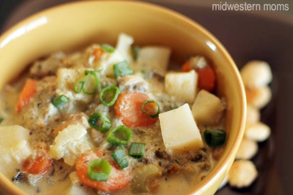 Oyster Stew is perfect for when the weather turns cold.