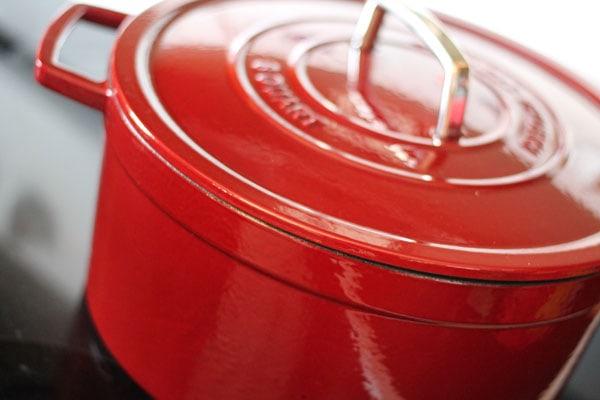 Martha Stewart Collection Cast Iron Casserole Dish