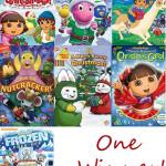 Nickelodeon Holiday DVD Bundle Giveaway
