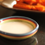 Sweet Potato Fries with Marshmallow Dip