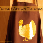 Turkey Apron Tutorial #TulipShimmer