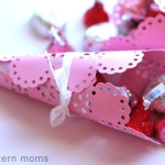 Valentine's Crafts: Candy Cones