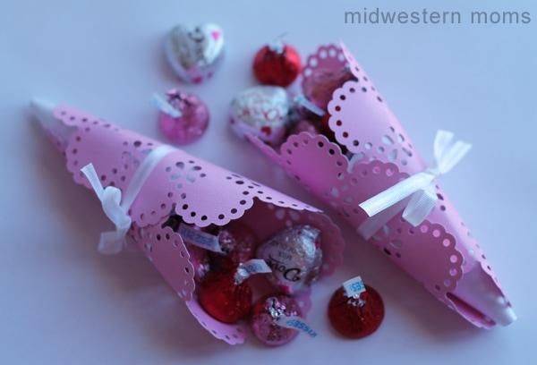 Valentine Candy Cone