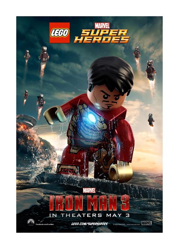 LEGO Minifig Iron Man