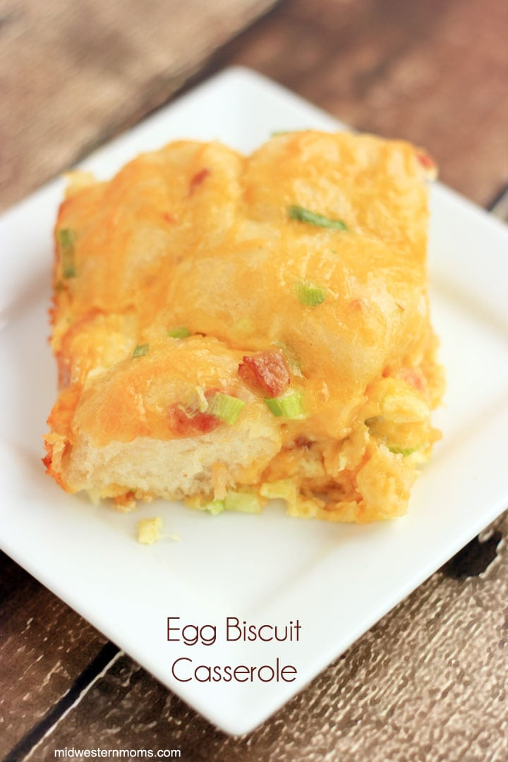 Egg Biscuit Casserole Recipe