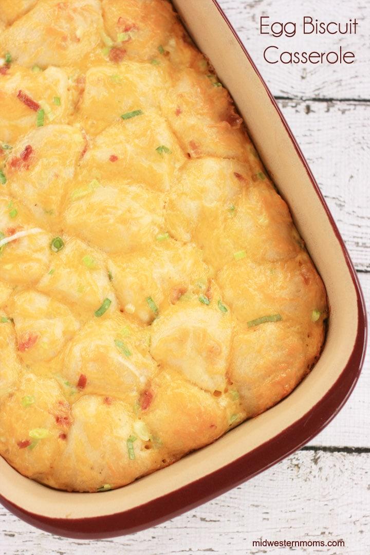 Egg Biscuit Casserole Recipe