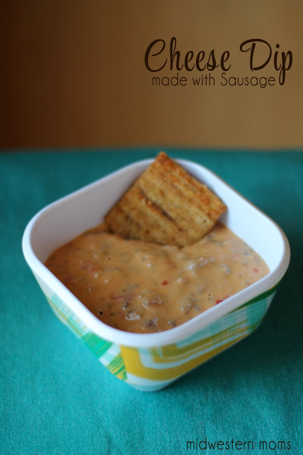 Cheese Dip with Sausage