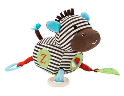 Skip Hop Alphabet Zoo Activity Toy - Zebra