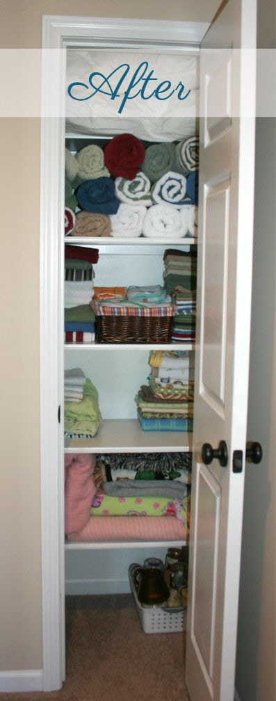 Linen Closet After Pitcture