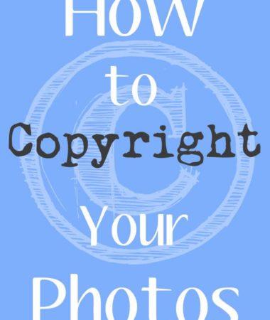 How to Copyright Photos