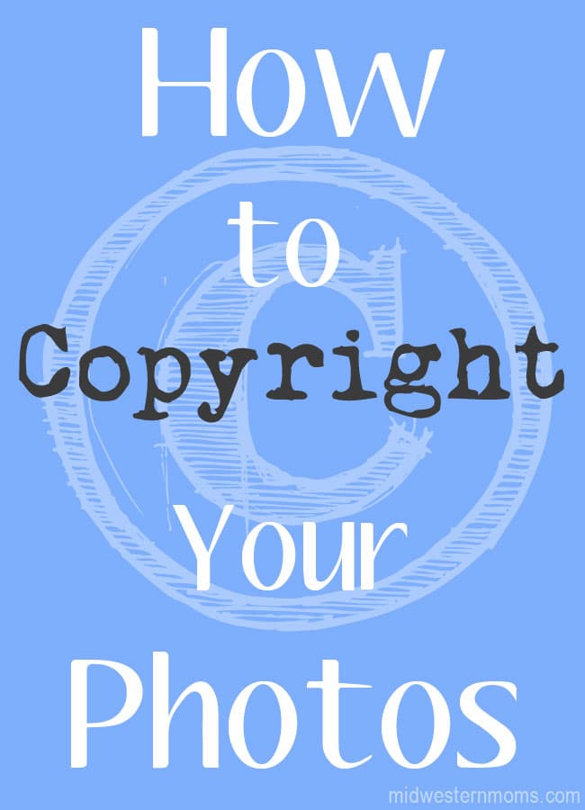 How to Copyright Photos