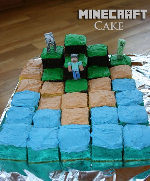 minecraft cake recipe. Beautiful Cake Minecraft Cake In Recipe