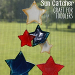 #LetsBond with Sun Catcher Craft for Toddlers