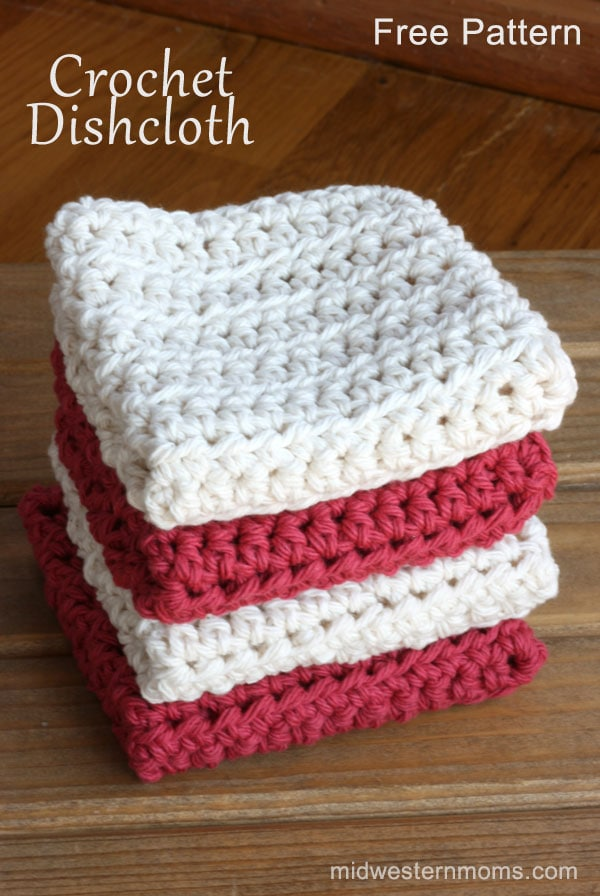 Crochet Stitches Dishcloths : Crochet Dishcloth