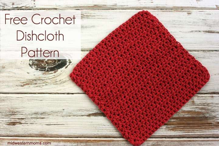 Free Crochet Dishcloth Pattern