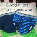 We Made The Switch to GoodNites TRU-FIT Underwear #TRUFITWALMART