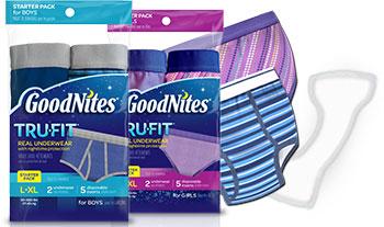 GoodNite* Tru-Fit* Starter Kits