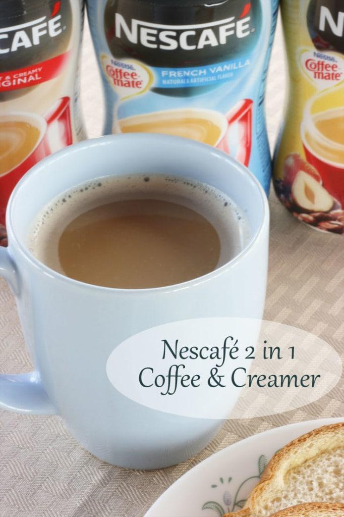 Nescafe 2 in 1 Coffee plus Creamer