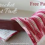 Free Crochet Hot Pads Pattern