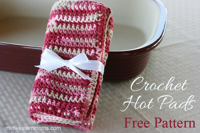 Crochet Patterns Hot Pads : ... , free crochet pattern , free crochet pot holder patterns , hot pads