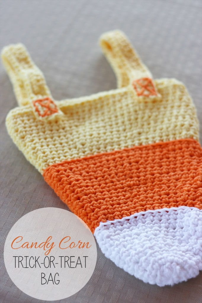 Candy Corn Trick-or-Treat Bag