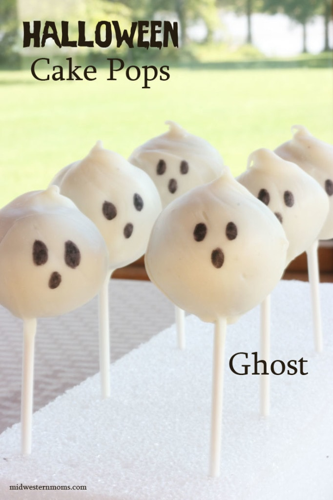 Halloween Ghosts Cake Pops