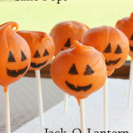 Halloween Cake Pops - Jack-O-Laterns